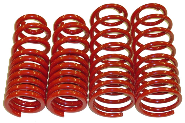 Uprated & Lowered Springs - Rear Kit